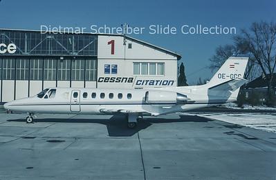 1994-02 OE-GCC Cessna 560 Citation 5 (c/n 560-0125) Goldeckflug