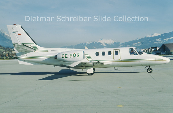 OE-FMS Cessna 500 Citation 1 Tyrolean Jet Service