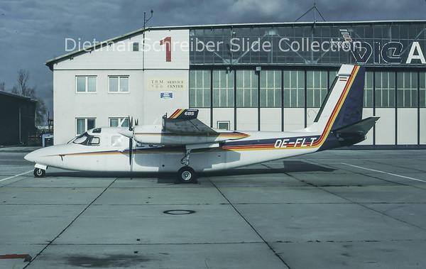 1993-11 OE-FLT Rockwell Aero Commander 685 (c/n 12027) Berimex Air Service