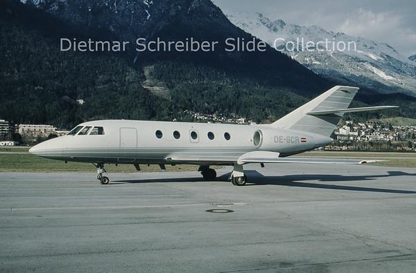 OE-GCR Dassault Falcon 20D-5 (c/n 191) Tyrolean Jet Service