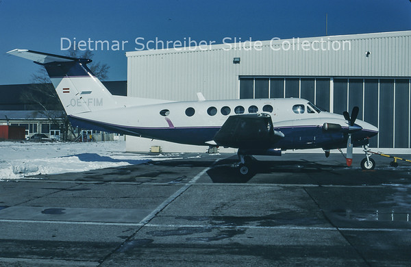 1994-02 OE-FIM Beech 200 King Air Grossmann Air Service