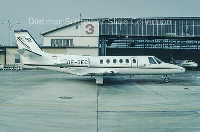 1994-03 OE-GEC Cessna 550 Citation 2 (c/n 550-0266) City Jet