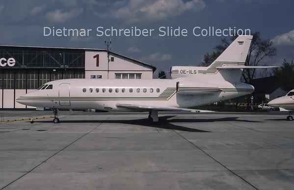 1994-04 OE-ILS Dassault Falcon 900 Tyrolean Jet Service