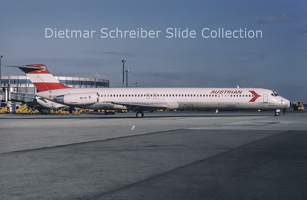 1994-04 OE-LDV MDD MD80 Austrian Airlines