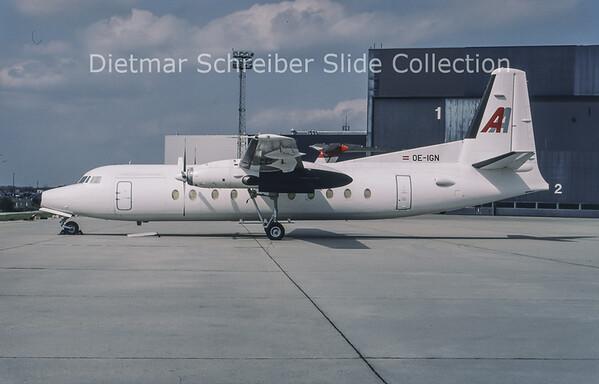 1994-05 OE-IGN Fokker 27 Amadeus Air