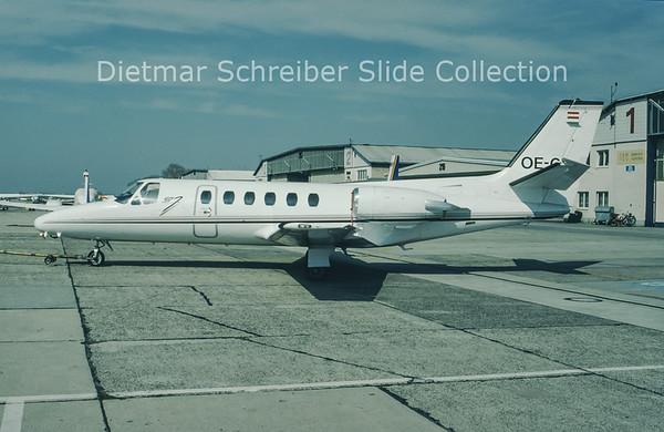 1997-04 OE-GIL Cessna 550 Citation 2 (c/n 550-0060) City Jet