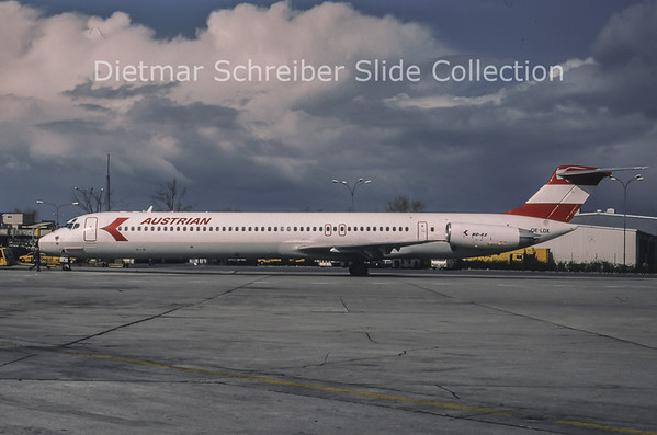 1994-04 OE-LDX MDD MD80 Austrian Airlines
