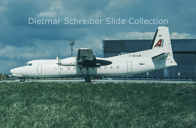 1997-04 OE-ILW Fokker F27-500 (c/n 10681) Amadeus Air