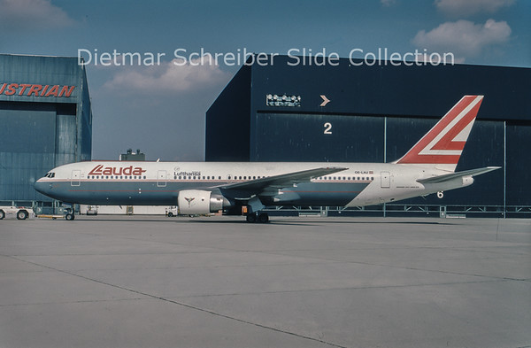 1994-04 OE-LAU Boeing 767-3Z9ER (c/n 23765) Lauda Air