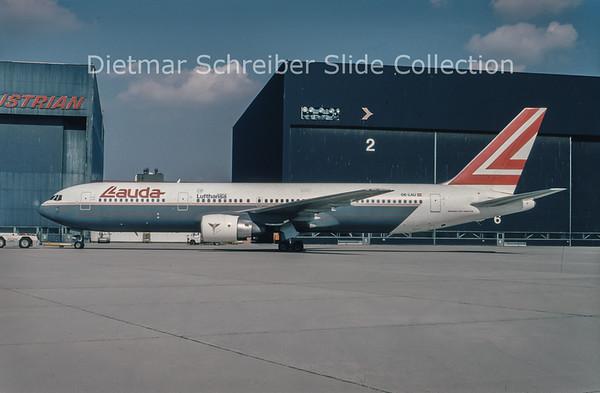 1994-04 OE-LAU Boeing 767-300 Lauda Air