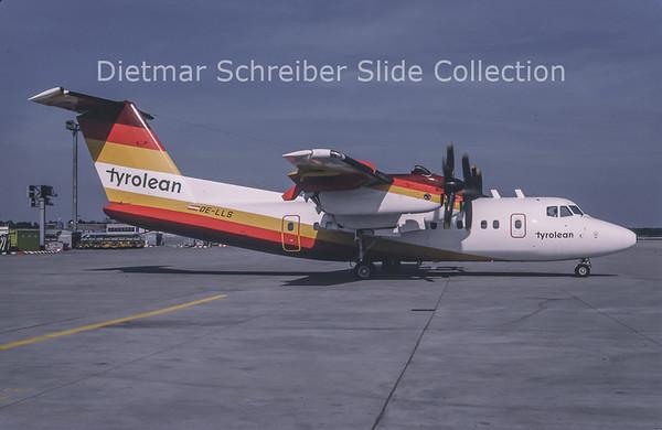 1989-04 OE-LLS DHC Dash 7-100 (c/n 022) Tyrolean Airways