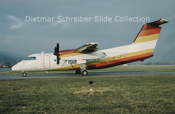 OE-LLP Bombardier Dash 8-103 (c/n 076) Tyrolean Airways