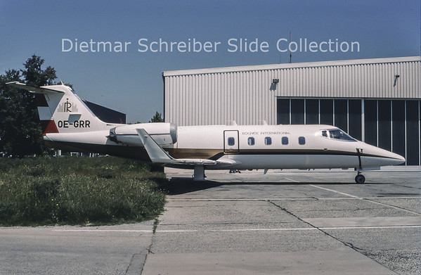 1994-06 OE-GRR Learjet 55 Rogner International