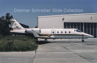 1994-06 OE-GRR Learjet 55 (c/n 55-059) Rogner International