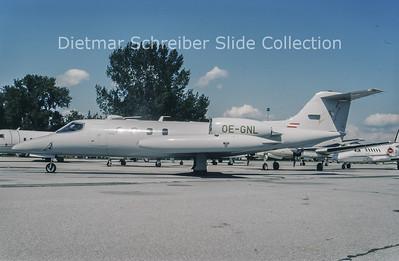 1994-06 OE-GNL Learjet 36A (c/n 36-055) Lauda Air