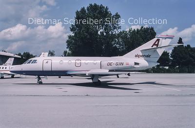 1994-06 OE-GNN Dassault Falcon 20E (c/n 298) Amadeus Air