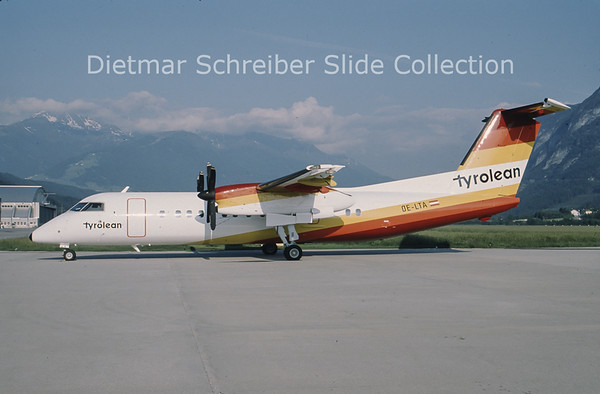 OE-LTA Bombardier Dash 8-314 (c/n 274) Tyrolean Airways