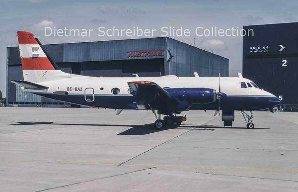 1994-05 OE-BAZ Gulfstream 1 (c/n 23) Austria - Bundesamt für Zivilluftfahrt