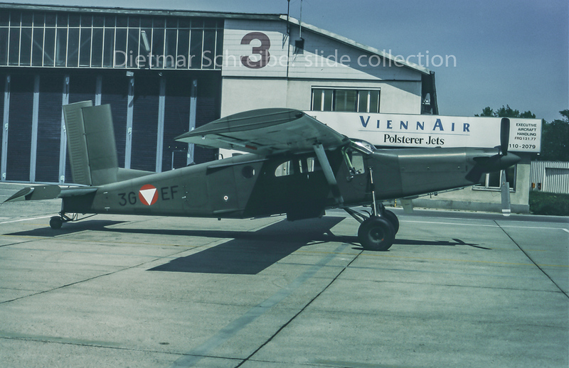 1994-05 3G-EF Pilatus PC6 Austrian Air Force