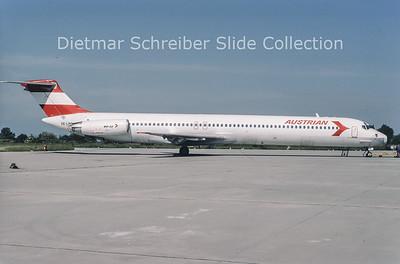1994-06 OE-LMB MDD MD81 (c/n 49279) Austrian Airlines