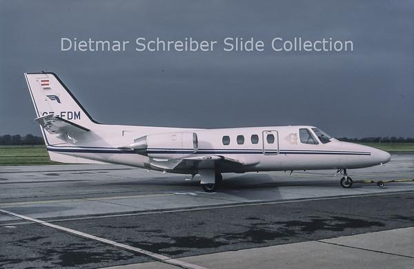 1994-06 OE-FDM Cessna 501 Citation 1 (c/n 501-0140) Goldeckflug