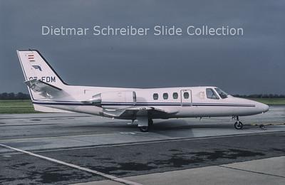 1994-06 OE-FDM Cessna 500 Citation 1 Goldeckflug