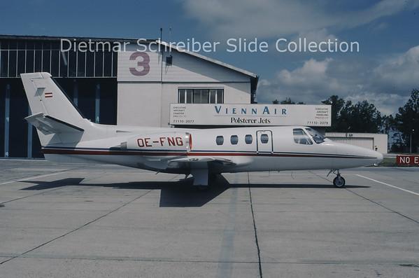 OE-FNG Cessna 500 Citation 1 (c/n 500-0301) Air Salzburg