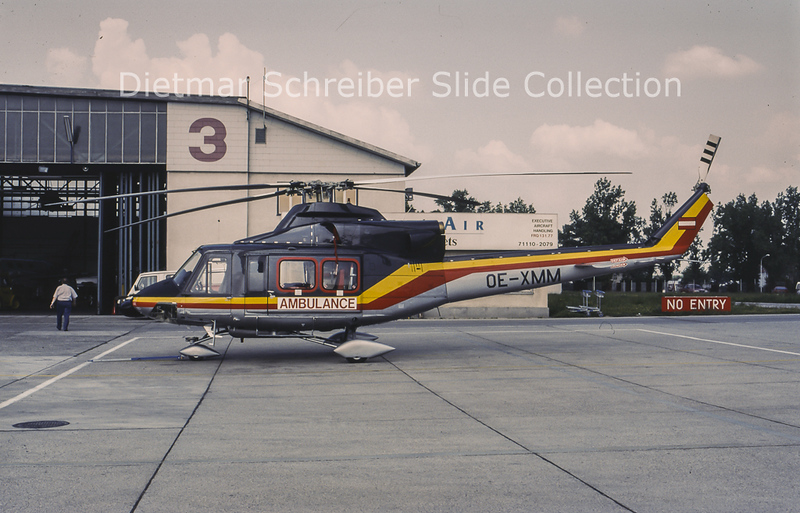 OE-XMM Bell 412 HDM Flugservice
