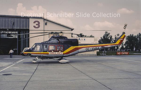 OE-XMM Bell 412HP (c/n 36076) HDM Flugservice