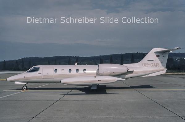 1987-10-21 OE-GAR Learjet 35 Jetair