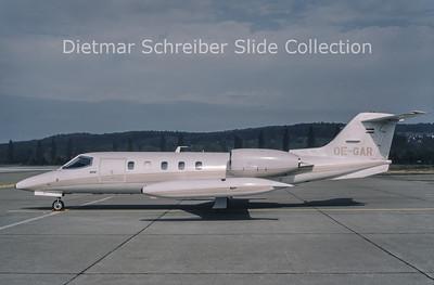 1987-10-21 OE-GAR Learjet 35 Jetair c/n 35-309