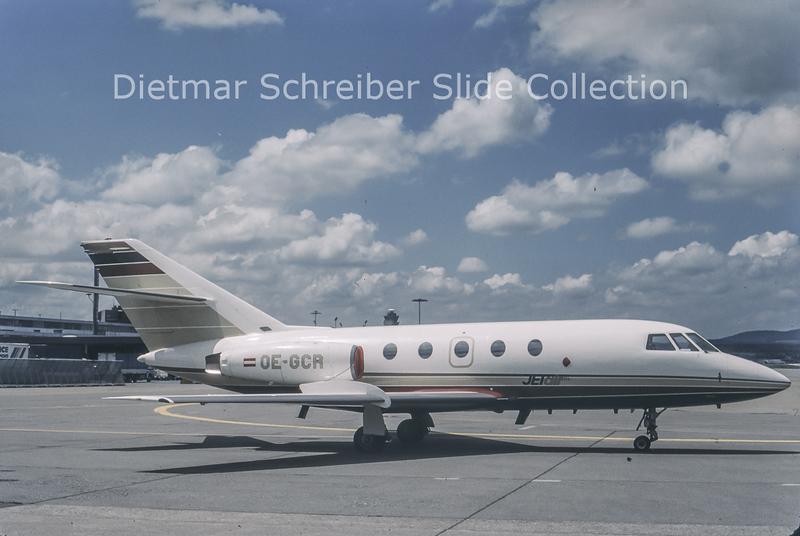 1988-07-04 OE-GCR Dassault Falcon 20 Jetair