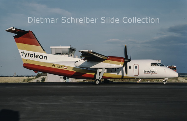 1994-08 OE-LLG Dash DHC8-100 Tyrolean Airways