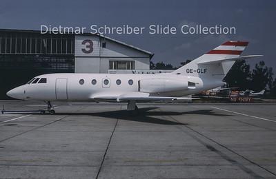 1994-07 OE-GLF Dassault Falcon 20E (c/n 323) LFS Flugservice
