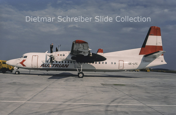 1994-07 OE-LFC Fokker 50 Tyrolean Airways
