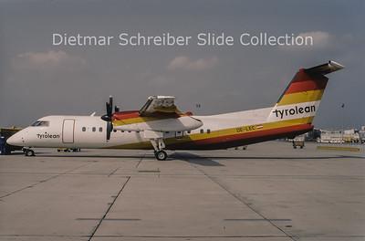 1994-09 OE-LEC Bombardier Dash 8-311 (c/n 313) Tyrolean Airways
