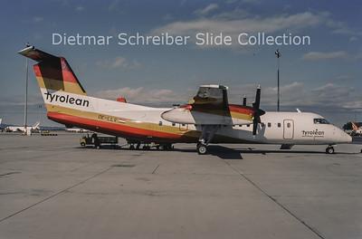 1994-09 OE-LLV Bombardier Dash 8-311 (c/n 290) Tyrolean Airways