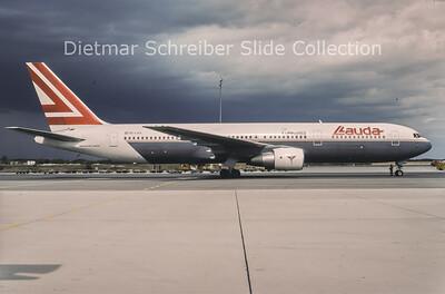 1994-09 OE-LAX Boeing 767-3Z9ER (c/n 27095) Lauda Air