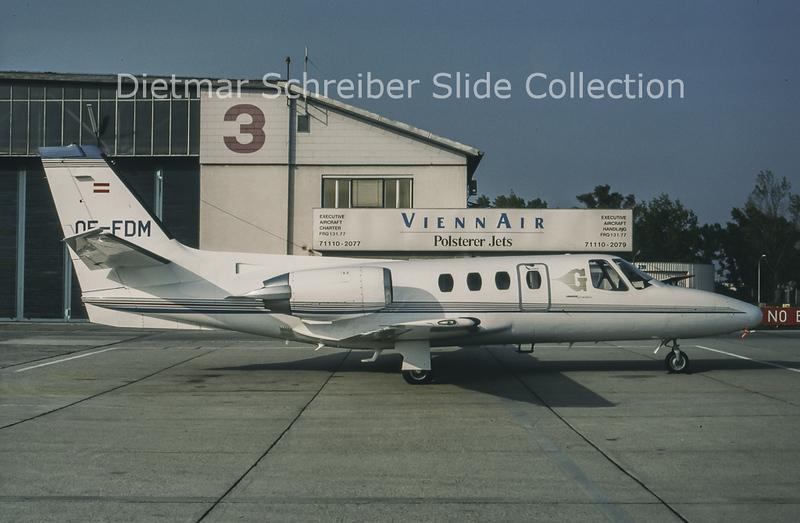 1994-09 OE-FDM Cessna 501 Citation 1 (c/n 501-0140) Goldeckflug