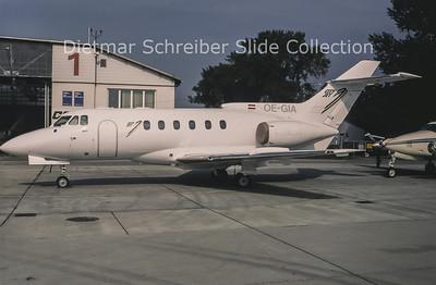 1994-09 OE-GIA Bae 125-F600B (c/n 256027) City Jet