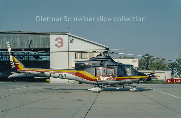 1994-12 OE-XNN Bell 412 HDM Flugservice