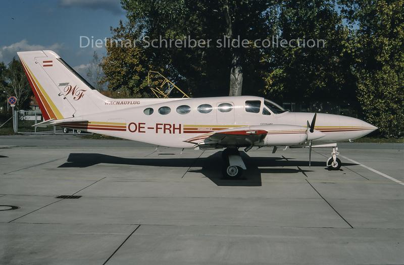 1994-11 OE-FRH Cessna 414 Wachauflug