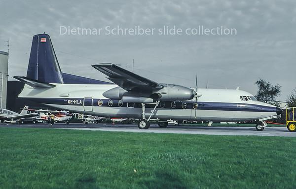 OE-HLA Fokker 27 WDL Aviation