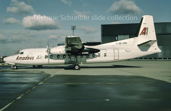 1995-01 OE-IPN Fokker 27 Amadeus Air