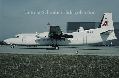 1995-02 OE-ILW Fokker 27 Amadeus Air