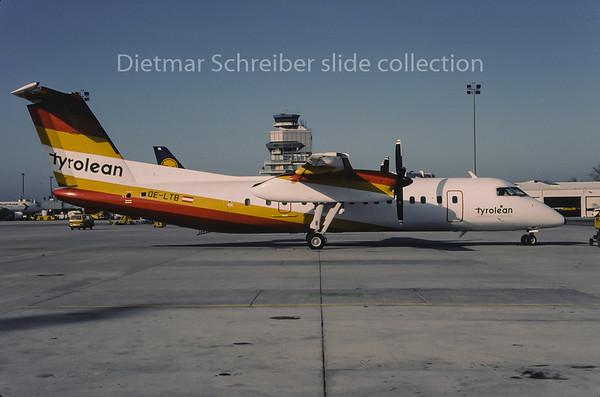 1995-02 OE-LTB Dash DHC8-300 Tyrolean Airways