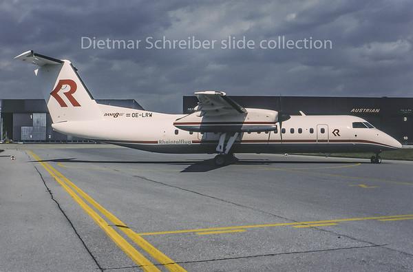 1995-04 OE-LRW Dash DHC8-300 Rheintalflug