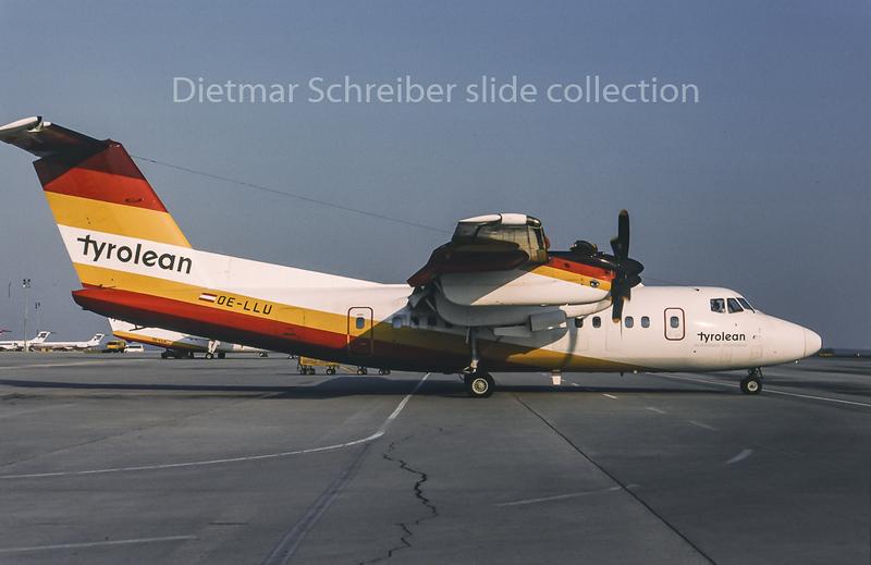 1995-05 OE-LLU Dash DHC7 Tyrolean Airways