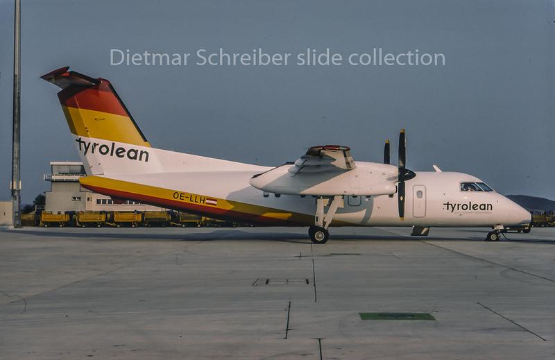1995-04 OE-LLH Dash DHC8-100 Tyrolean Airways