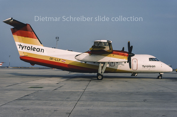 1995-05 OE-LLF Dash DHC8-100 Tyrolean Airways